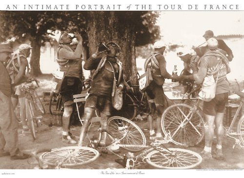 Tour de France Drinkers Sports Photo Poster by All Sales