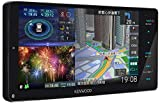 KENWOOD(ケンウッド) カーナビ 彩速ナビ 7型ワイド MDV-M807HDW 専用ドラレコ連携 無料地図更新/フルセグ/Bluetooth/Wi-Fi/Android&iPhone対応/DVD/SD/USB/HDMI/ハイレゾ/VICS/タッチパネル/HDパネル