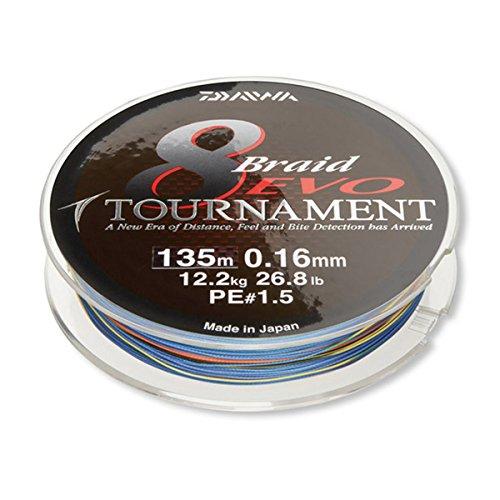 Daiwa Tournament 8 Braid Evo 50 m Multicolor 0,45 mm