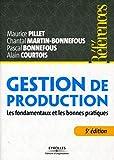 Gestion de production - Les fondamentaux et les bonnes pratiques.