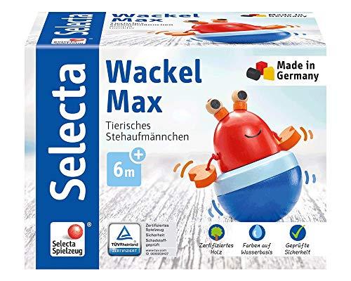 Selecta Culbuto mobile Max en bois, multicolore