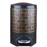 Byrhgood Hogar, Sala de Estar, Dormitorio, Personalidad, Modelo de Madera de imitación de la Vendimia China, Grande, Cubierta, Cubierta con Cubos de Basura, Papel en el hogar (Size : L)