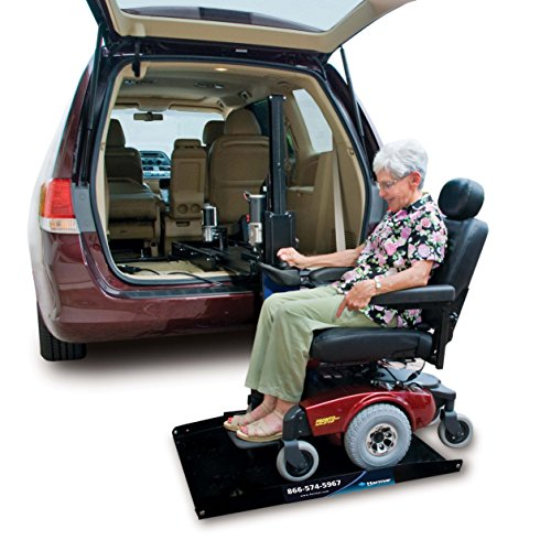 Harmar Mobility Upgraded AL600 Scooter & Wheelchair Hybrid Platform Lift with Mounting Kit & Wiring Harness -  AL-600-WH-HA