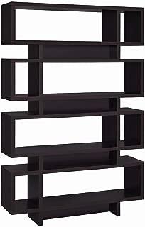 Coaster Home Furnishings 4-Tier Bookcase Cappuccino