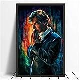 chtshjdtb Sherlock Holmes Kunstplakat Benedict Cumberbatch