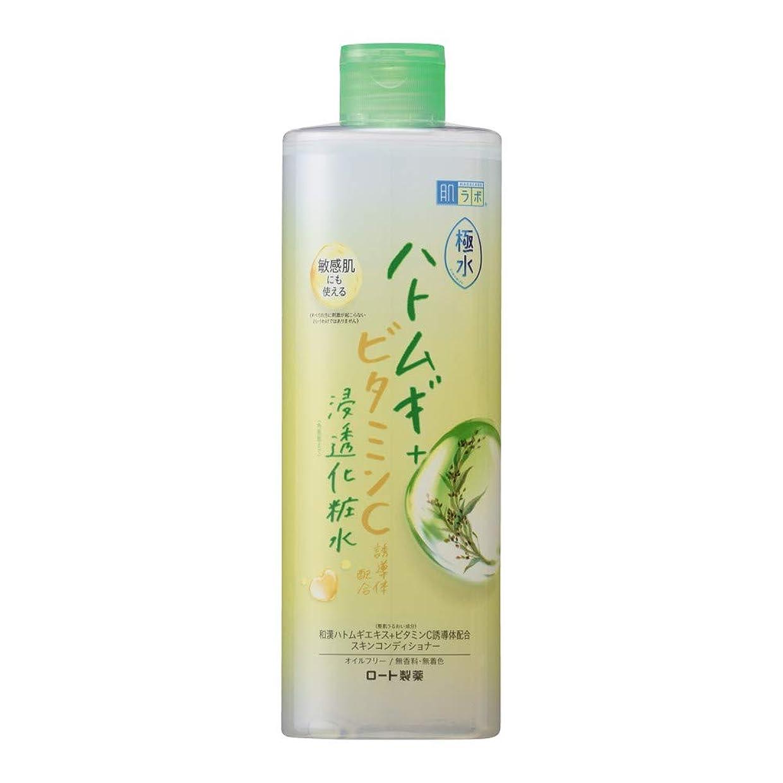 合成宅配便電気の肌ラボ 極水ハトムギ+浸透化粧水 400mL