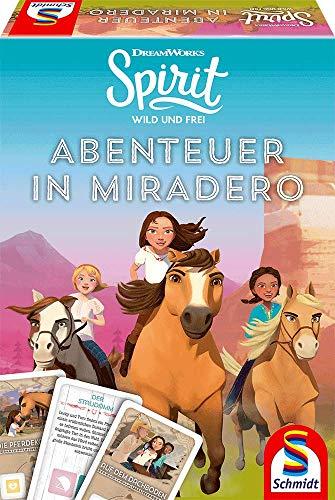Schmidt Spiele 40601 Spirit, Abenteuer in Miradero, Spiel zur beliebten TV Serie, bunt