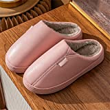 SKREOJF Zapatillas de algodón para mujer, invierno, interior,...