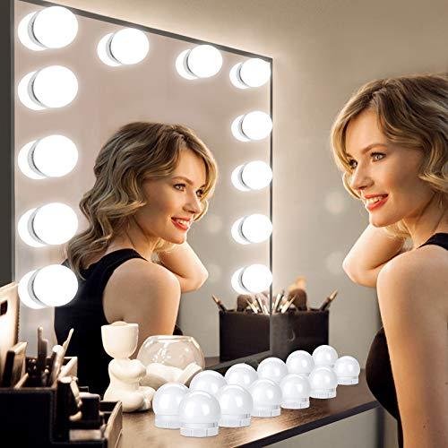 Luces para Espejo de Maquillaje, 12 Luce