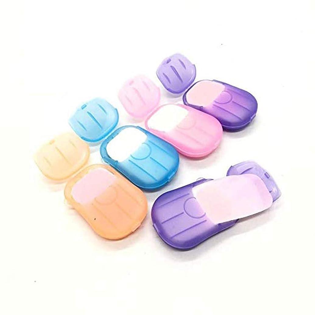 いつか思春期のサドルArvolno ペーパーソープ 紙せっけん 6個セット 石鹸 携帯用除菌 香り 超軽量 持ち運び 手洗い/お風呂 お出かけ 旅行 20枚/ケース (6個セット)