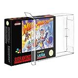 Link-e : 10 X Estuche Protector De Plastico Para Cajas De Juego Super Nintendo (SNES) O Nintendo 64 (N64)