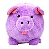 FAB Starpoint Jumbo Purple Plush Piggy Bank