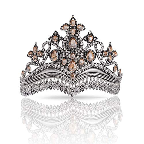 Crown for Women Baroque Vintage Tiaras and Crowns for Women Valentines Gifts Wedding Tiaras Prom Queen Crown Pageant Hair Accessories for Halloween Costume Bridal Party Headbands for Women