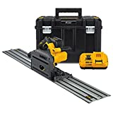 DEWALT DCS520ST1 60V MAX 6-1/2' (165mm) Cordless Track Saw Kit with 59' Track