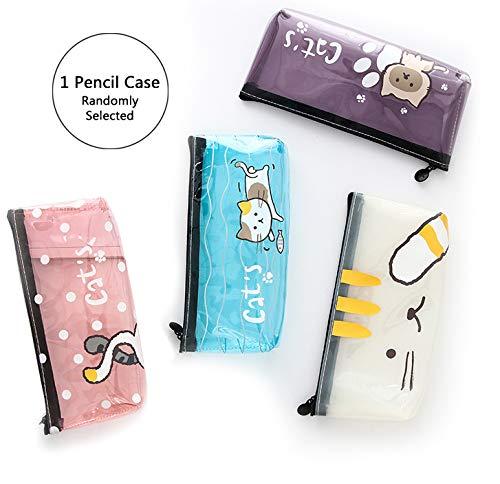 Cat Pencil Case Cute Pencil Case Kawaii Stationary Kawaii School Supplies Japanese Stationary Japanese School Supplies Colored Pencil Case School Supplies for Girls Korean Stationary