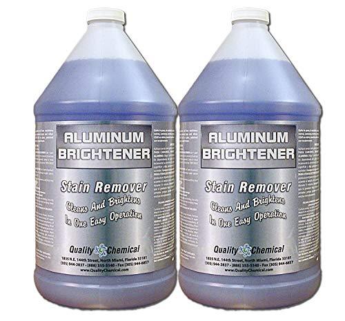 Aluminum Cleaner & Brightener & Restorer-2 Gallon case