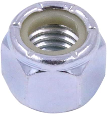 Quantity 25 By Fastenere 7//16-20 Nylon Insert Hex Lock Nuts Plain Finish Stainless Steel 18-8