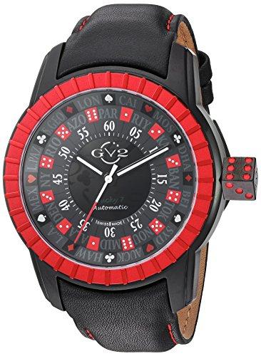 GV2Lucky 7uomo Swiss Automatic orologio da uomo, modello: 9306)