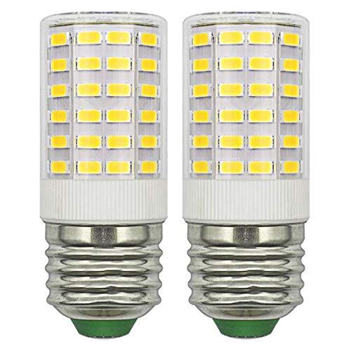 Bombilla LED E27, luz blanca fría, 12 V, de bajo voltaje, compacta, 5 W, equivalente a 50 W, 60 W, E27 (no alta tensión 230 V), bombilla E27, no regulable, pack de 2