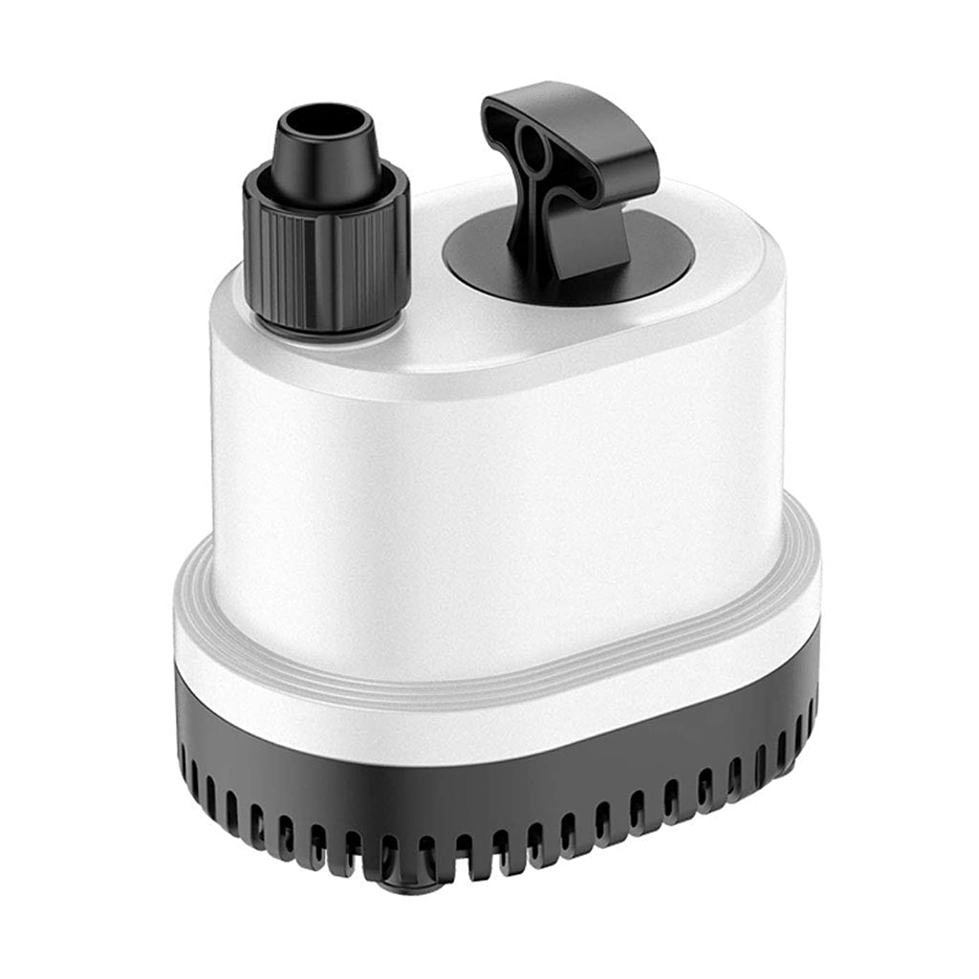Aqua Submersible Pump Silent Energy-Saving 360 ° Fountain Pump Anti-Dry. Suitable for Garden Fountains Fish Tanks Pool Fish Ponds etc Filtration Drainage