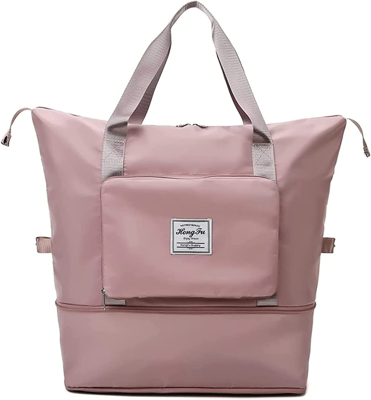 Large Atlanta Mall Ranking TOP2 Capacity Folding Travel Foldable Tra Duffel Bag