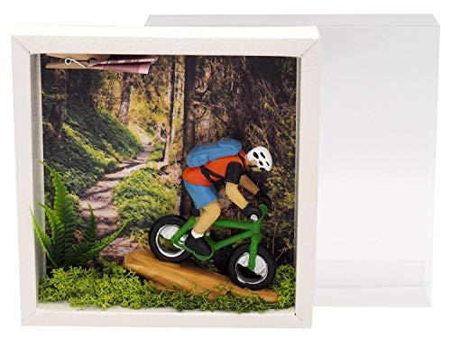 ZauberDeko Geldgeschenk Verpackung Mountainbike Fahrrad Tour Mann Gutschein Sport Ausrüstung - 2