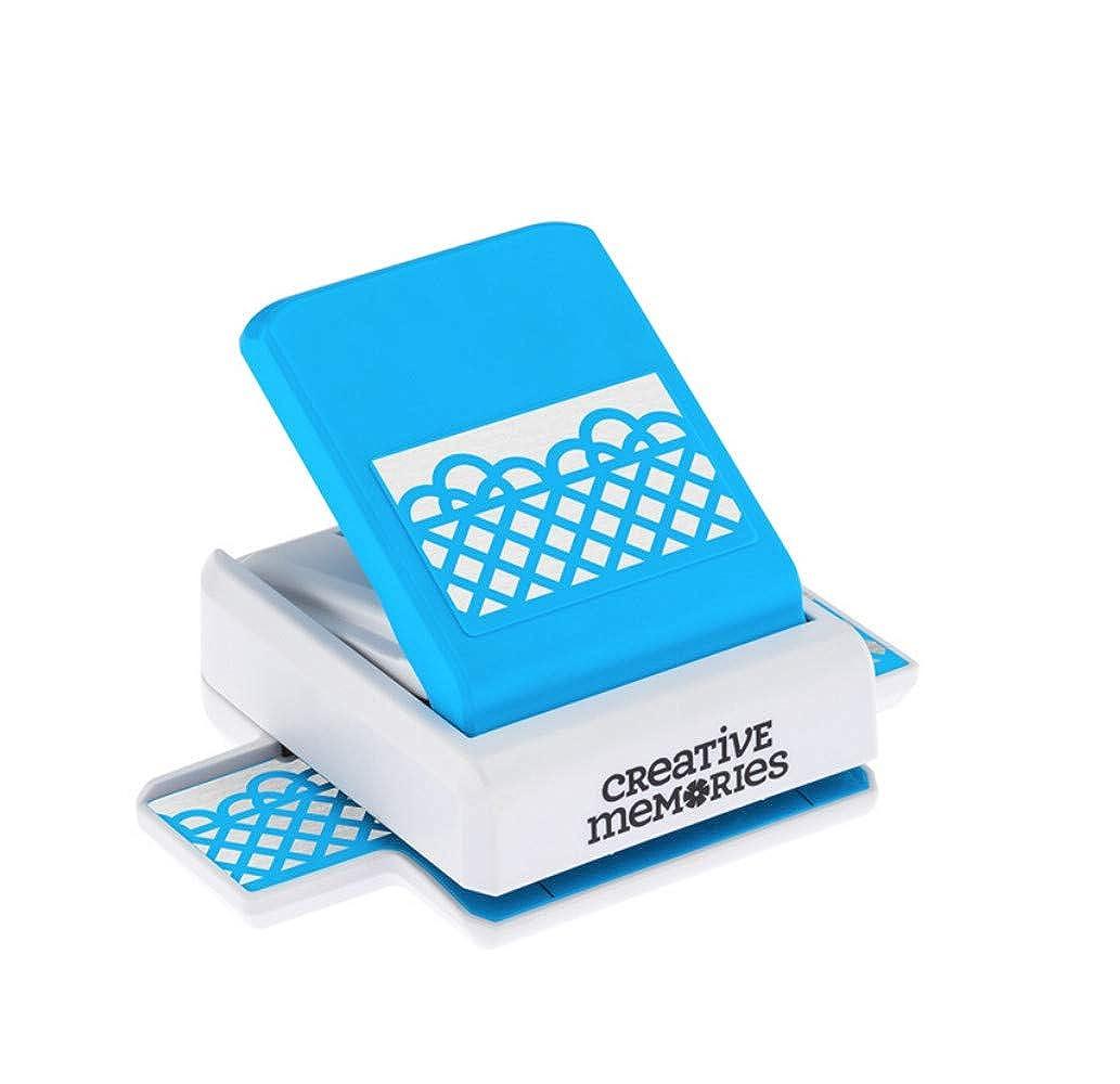 Decorative Lattice Border Punch Rare NLA for Card or Scrapbook Making by Creative Memories