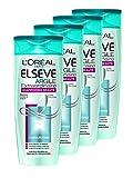 L'Oréal Paris Elsève Argile Extraordinaire Shampooing Beauté 250 ml  - Lot de 4