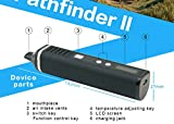 Pathfinder V2 Dry Herb Vaporizer, 1800mAh Battery, Large 1gram Chamber, LCD Screen, Advanced Variable Temperature Control (Red)