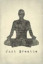 Keep Calm Collection Just Breathe, Mindfulness Meditation Poster Print