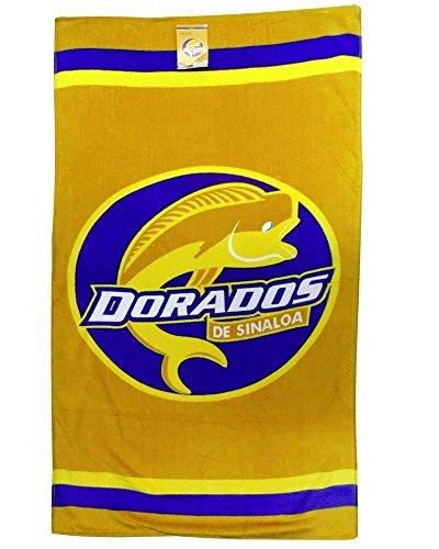 Colap Dorados de Sinaloa Unisex Beach Towel 100% Cotton (Yellow)