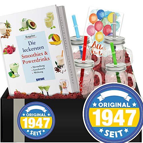 Original seit 1947 - DIY Set Smoothie + Becher - Geburtstagsgeschenk Idee