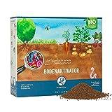 Plantura Bio Bodenaktivator mit 3 Monate Langzeit-Wirkung, staubarmes Granulat, unbedenklich für...
