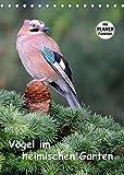 Vögel im heimischen Garten (Tischkalender 2022 DIN A5 hoch)
