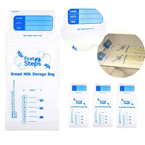 Breastmilk Storage Bags x100 Pre-sterilised, BPA Free and Easy to use, Perfect for Freezing and Storing Breast Milk