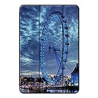 Fuleadture iPad Air 1/iPad Air保護カバー,PUレザー&PC 三つ折タイプ 耐久性 キズ防止 保護ショックプルーフ 三段角度調節 シェルスタンドカバー iPad Air 1/iPad Air Case-ac501