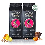 ☕️ Café Tinamú Gourmet   2x 500 gramos   Cafe grano Arábica orgánico   Suave y de baja acidez   Café de tierras altas de Colombia