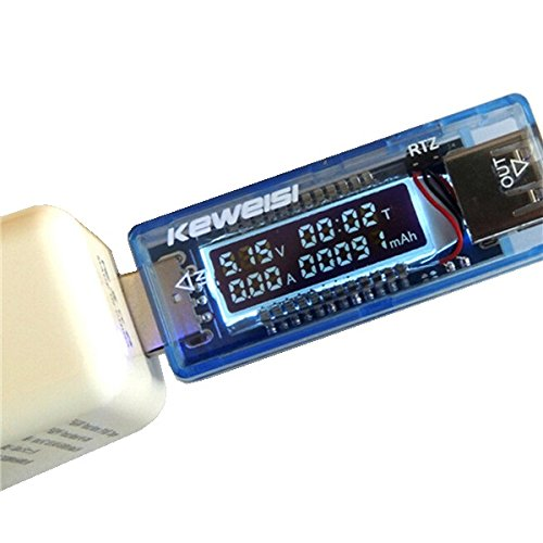 4-20V 0-3A Portable LED Display USB Power Voltage Current Meter Battery Detector