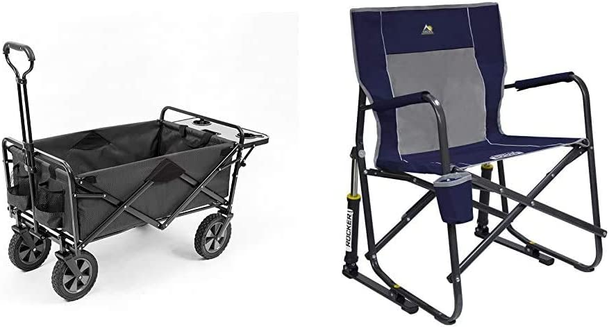 Bargain sale Mac Sports gift Collapsible Outdoor Utility with Folding Table Wagon