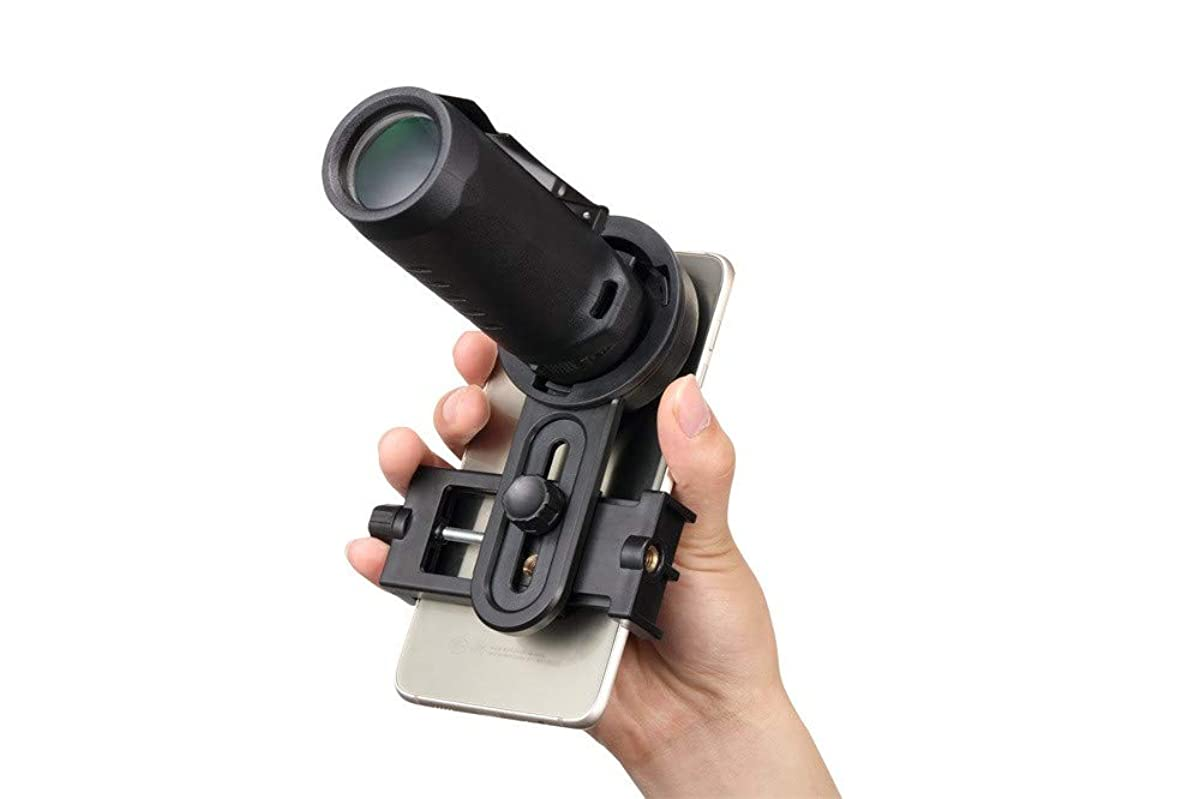 KUNAW 30X25 Monocular Telescopes Optics High Powered Monocular Scope with Retractable Eyepiece and Multi Coated Optical Glass Lens Bak4 Prism Lens Outdoors with Smartphone Stand