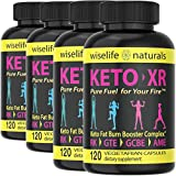Ketosis Pills Fat Burn Booster: Ketosis Supplements That Works Fast For Women And Men, Get Max Strength Metabolism Fat Burner And Fasting Cleanse Weight Loss Intermittent Fasting Support - Bulk 4 Pack
