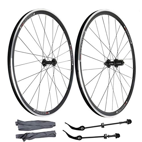 ZNND 700C Juego Ruedas De Bicicleta De Carretera Freno V Ruedas Bici Aleación Aluminio Llantas 32 Hoyos para Casete 7 8 9 10 para Neumático 700x18C-32C