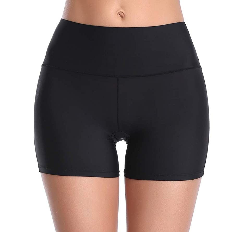 Women's Seamless Boyshort Panties Nylon Spandex Underwear Stretch Shorts for Under Dresses