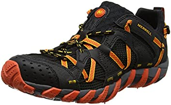 Merrell Shoes Waterpro Maipo J12627 Black Hot Coral Size 11.5 M US