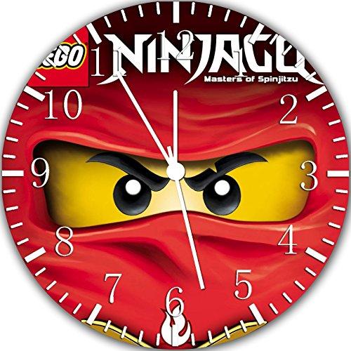 Borderless Randlose Wanduhr Ninja Ninjago Rahmenlose Wanduhr X61