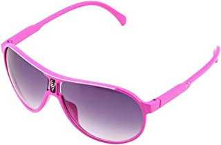 Fashionable Design Child Cool Children Boys Girls Kids Plastic Frame Sunglasses Goggles Eyewear Eye Protect Easy Match - Pink