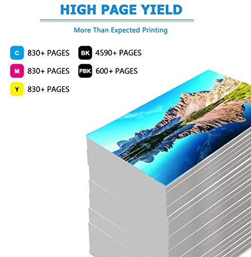 ONEINK Compatible Ink Cartridge Replacement for Canon 280 281 XXL PGI-280XXL CLI-281XXL PGI280 CLI281 for Printer PIXMA TS6120 TS6220 TS702 TR7520 TS8120 TS8220, 5 Packs(1PGBK, 1B, 1C, 1M, 1Y)… Photo #3