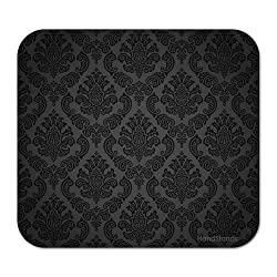 cheap HandStands Damask Pattern Mouse Pad – Computer and Laptop Mouse Pad – Works with All Mouses