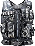 Rainlin One Size Tactical Vest Set, Lightweight Airsoft Military...