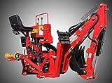 Value Leader 8' Dig Tractor Backhoe w/Tank,Pump,Filter Cat.I/II 40Hp+ (VL-BHM8)